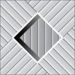 Реечный потолок 75C (закрытый), цвета130 и501, комплект