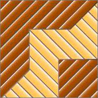 Реечный потолок 100P (закрытый), цвета105 и106, комплект