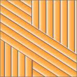 Реечный потолок75C (закрытый), цвет153, комплект