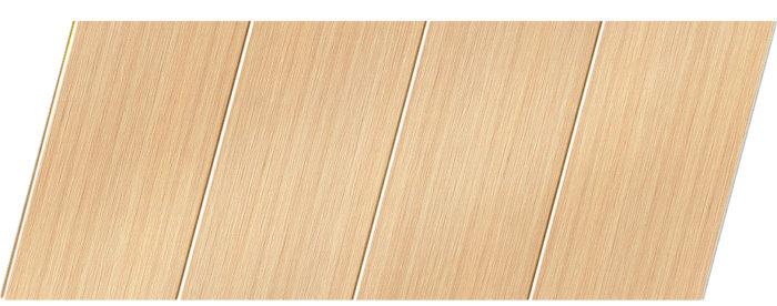 Реечный потолок с фактурой светлое дерево 100 P, цвет: панель - 105