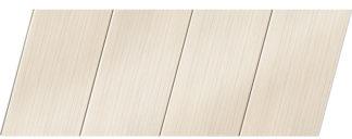 Реечный потолок с фактурой светлое дерево (бук беленый) 100 P, цвет: панель - 200