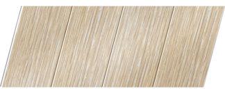 Реечный потолок с фактурой светлое дерево (дуб беленый) 100 P, цвет: панель - 203