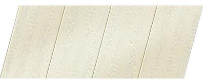 Реечный потолок с фактурой светлое дерево (вуд белый) 100 P, цвет: панель - 211