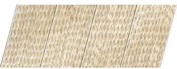 Реечный потолок с фактурой светлое дерево (ротанг) 100 P, цвет: панель - 212