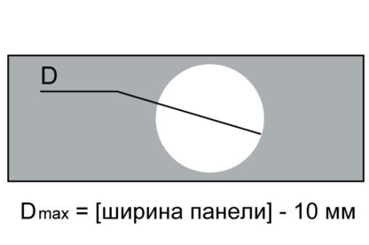 Пробивка панели реечного потолка для точечного светильн