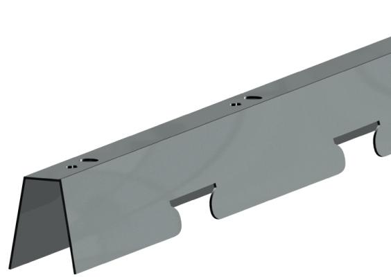 СтрингерО для реечного потолка 84O″, длина до4м