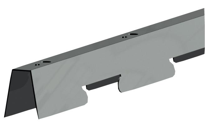 СтрингерR для реечных потолков 84O и84R, длина до4м
