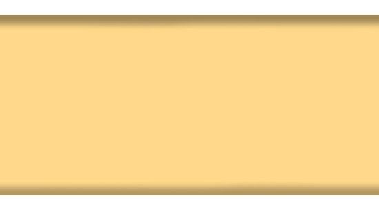 Промежуточный закрывающий профиль 84R, цвет 4186 светло-желтый