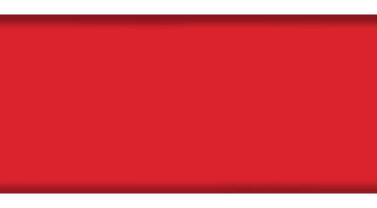 Промежуточный профиль 84R, цвет 5360 темно-красный