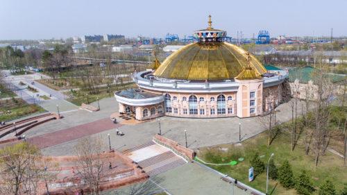 Цирк в Хабаровске. USA Ceiling Group