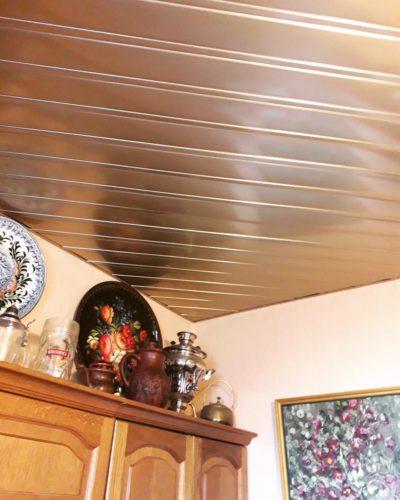 реечный потолок_диагональный монтаж. USA Ceiling Group.