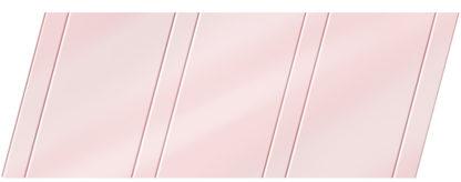 Глянцевый реечный потолок 100 P и 25 P, цвет: панель - 717 1