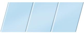 Матовый реечный потолок 150 C, цвет: панель - 015