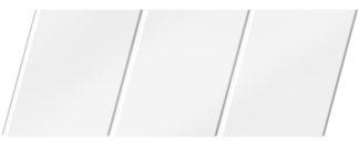Матовый реечный потолок 150 C, цвет: панель - 140