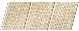 Реечный потолок с фактурой светлое дерево (ротанг) 150 C, цвет: панель - 212