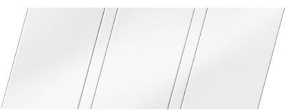 Матовый реечный потолок 150 P и 25 P, цвет: панель - 140