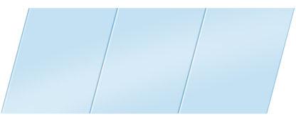Матовый реечный потолок 150 P, цвет: панель - 015