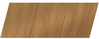 Реечный потолок с фактурой темное дерево 150 P, цвет: панель - 106
