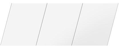 Матовый реечный потолок 150 P, цвет: панель - 140
