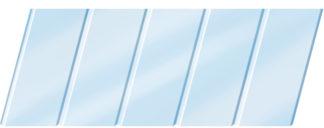 Глянцевый реечный потолок 75C, цвет: панель - 015 1
