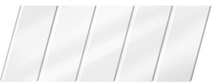 Глянцевый реечный потолок 75C, цвет: панель - 141