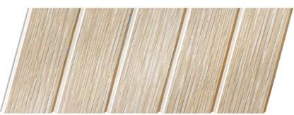 Реечный потолок с фактурой светлое дерево (дуб беленый) 75 C, цвет: панель - 203