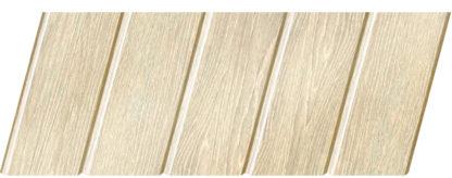 Реечный потолок с фактурой светлое дерево (дуб светлый) 75 C, цвет: панель - 210
