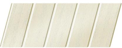 Реечный потолок с фактурой светлое дерево (вуд белый) 75 C, цвет: панель - 211