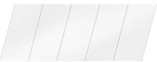 Матовый реечный потолок 75 P, цвет: панель - 140