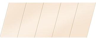 Матовый реечный потолок 75 P, цвет: панель - 710