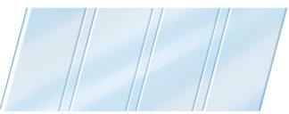 Глянцевый реечный потолок 84 R, цвет: панель - 015 1