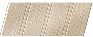 Реечный потолок с фактурой светлое дерево (дуб беленый) 84 R, цвет: панель - 203