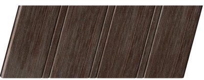 Реечный потолок с фактурой темное дерево (венге) 84 R, цвет: панель - 207