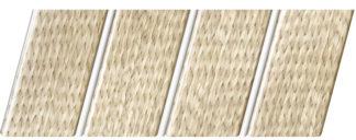 Реечный потолок с фактурой светлое дерево (ротанг) 84 R(V), цвет: панель - 212, профиль - 140