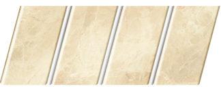 """Реечный потолок """"под мрамор"""" 84 R(V), цвет: панель - 336, профиль - 140"""