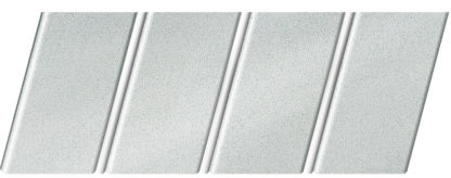 """Реечный потолок """"под металлик"""" 84 R(V), цвет: панель - 133, профиль - 141"""