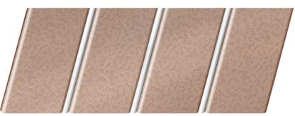 """Реечный потолок """"под металлик"""" 84 R(V), цвет: панель - 562, профиль - 141"""