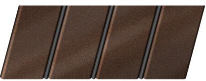"""Реечный потолок """"под металлик"""" 84 R(V), цвет: панель - 150, профиль - 288"""