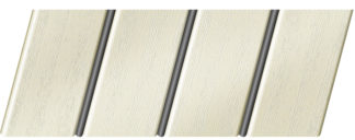 Реечный потолок с фактурой светлое дерево (вуд белый) 84 R(V), цвет: панель - 211, профиль - 288