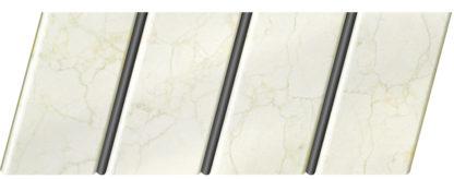 """Реечный потолок """"под мрамор"""" 84 R(V), цвет: панель - 337, профиль - 288"""