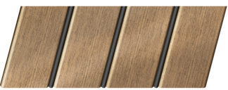 """Реечный потолок """"под металлик"""" 84 R(V), цвет: панель - 551, профиль - 288"""