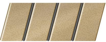 """Реечный потолок """"под металлик"""" 84 R(V), цвет: панель - 552, профиль - 288"""