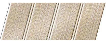 Реечный потолок с фактурой светлое дерево (дуб беленый) 84 R(V), цвет: панель - 203