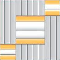 Реечный потолок 75C и150C (закрытый), цвета130, 143, 153, комплект