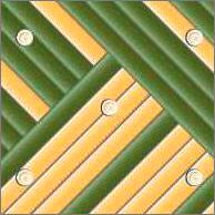 Реечный потолок 75C (закрытый), цвета 561 и153, комплект