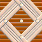 Реечный потолок75C и25P (закрытый), цвета205 и0402, комплект