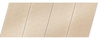 Реечный потолок с фактурой светлое дерево (бук песочный) 100 P, цвет: панель - 201