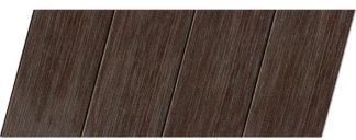 Реечный потолок с фактурой темное дерево (венге) 100 P, цвет: панель - 207