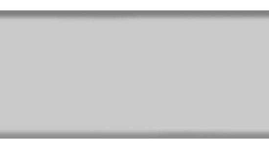 Промежуточный, закрывающий профиль 84R, цвет 0980 серый