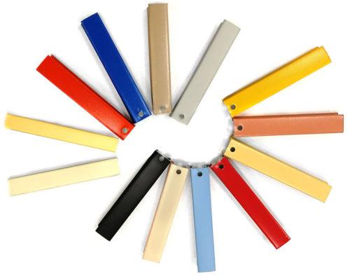 Цветовая гамма промежуточных профилей для потолка 84R